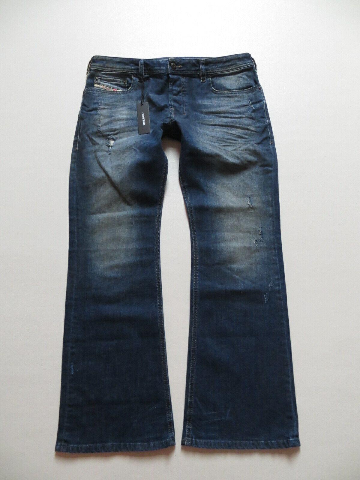 Diesel ZATHAN Stiefelcut Jeans Hose W 34  L 30 NEU   wash R833F_stretch KULT