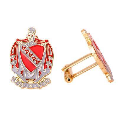 Tau Kappa Epsilon TKE Gold Color Crest Tie Bar//Clip Brand New
