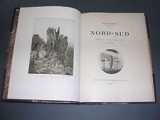 Voyage René Bazin Nord-Sud Paquebot France reliure gravures 1913