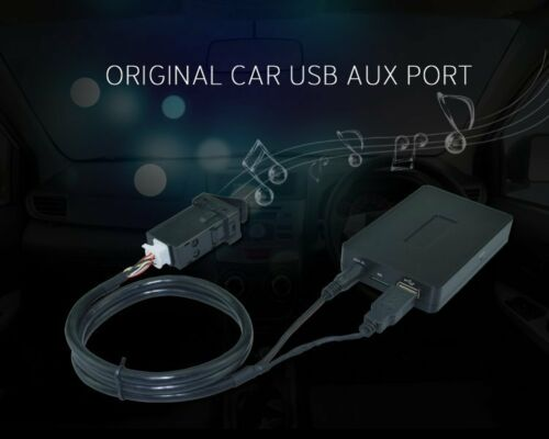 Car Stereo In Dash Mount USB AUX Adapter Port Extension Cable