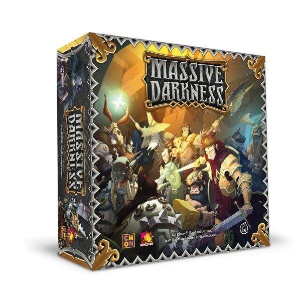 Massive Darkness - Gioco da Tavolo Base Nuovo  italiano by Asterion Asmodee  negozio outlet
