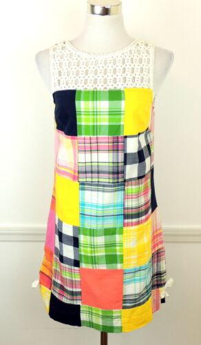 Lilly Pulitzer 6 Lowry Bingo Blanket Dress Madras