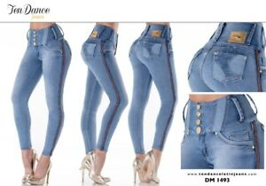 Jeans colombianos butt lifter fajas colombianas jeans levanta cola pompi 1149