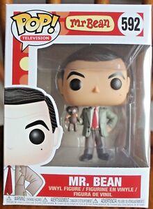 Mr BEAN avec Teddy Bear #592 Funko POP TV!