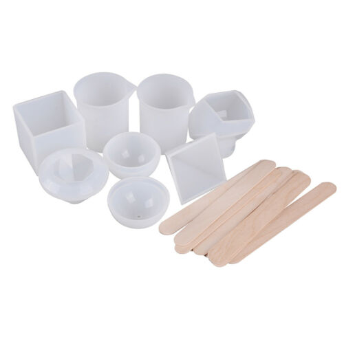 17x//set silicones mould resin crafts epoxy resin molds for DIY paper weights Bd