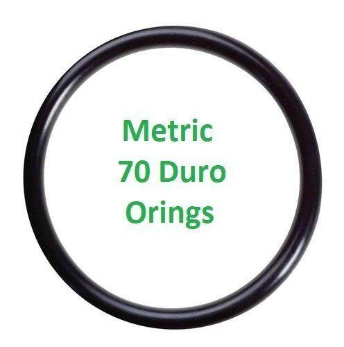 Metric Buna  O-rings 3 x 1mm  Price for 25 pcs