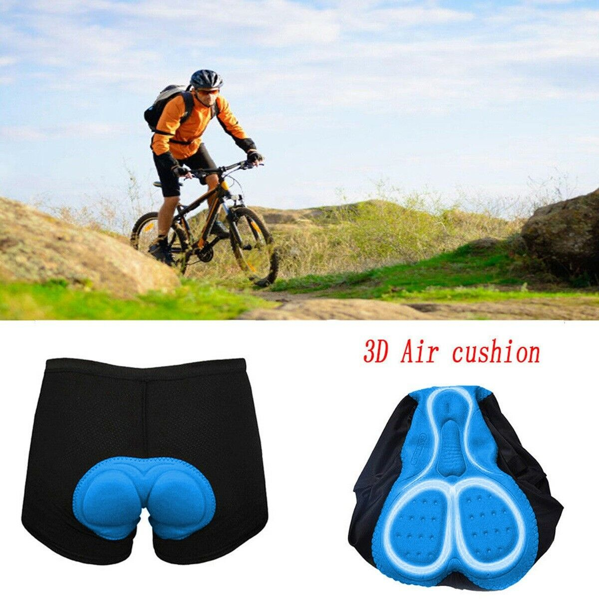 [Ultra-Fit]  US Men's Cycling Shorts Breathable Outdoor Sports MTB Cycling Shorts  2018 store