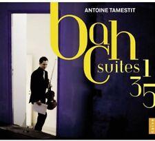 Antoine Tamestit, J.S. Bach - Suites Nos 1 3 5 [New CD]