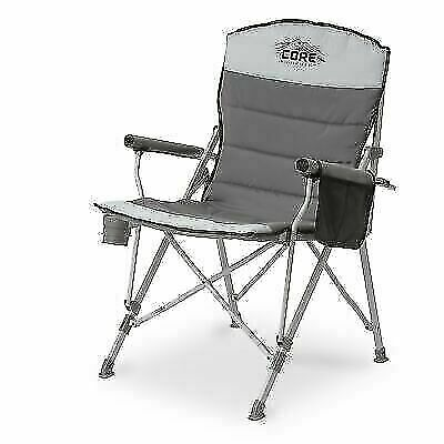 Gray for sale online Core Products 40021 Padded Hard Arm Chair
