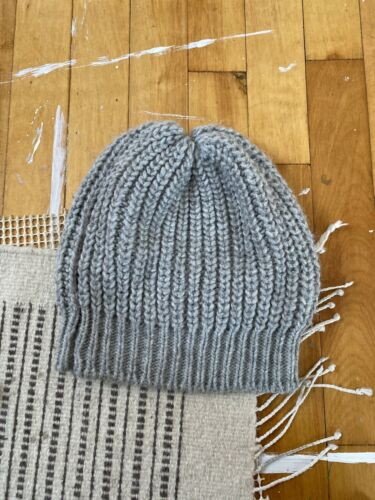 Oversized Knit Beanie Slouchy Hat Handmade In Ital