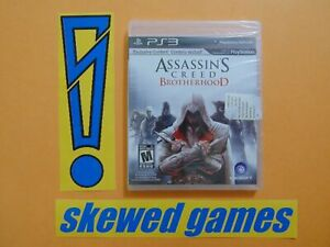 Assassins-Creed-Brotherhood-New-Sealed-PS3-PlayStation-3-Sony