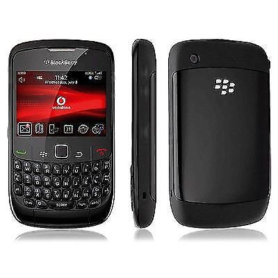 BlackBerry Curve 8520 - Black (Vodafone) Smartphone Grade B With Warranty