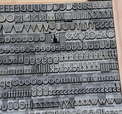 Liberal Bleischrift 14,5 Mm Bleisatz Buchdruck Handsatz Alphabet Schrift Letter Abc Blei Fabriken Und Minen