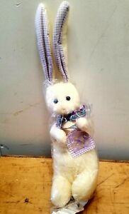 Hallmark-Earsley-Rabbit-Felt-Bunny-Plush-Stuffed-Animal-Easter-20-Inches