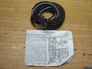 vintage 1931 chrysler six car electrical cloth wiring. Black Bedroom Furniture Sets. Home Design Ideas