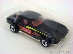 '63 Split Window Corvette Getty Black Hot Wheels 1991 Gasoline Promotion Baggie