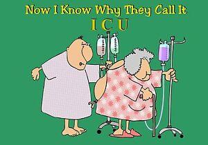 MAGNET Humor Fridge Hospital Patients Gown Open Back Intensive ...