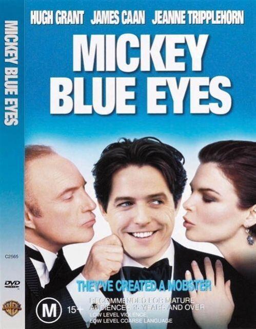 Mickey Blue Eyes (DVD, 2000)  LIKE NEW ... R4