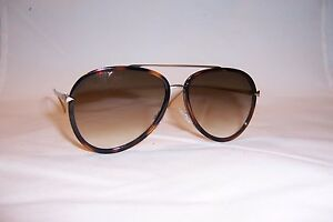 afeb5bffe971 NEW FENDI SUNGLASSES FF 0155 S V4Z-CC HAVANA GOLD  BROWN AUTHENTIC ...