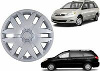 (1) 16 Replacement Hubcap For 2004-2010 Toyota Sienna 41616s Free Shipping