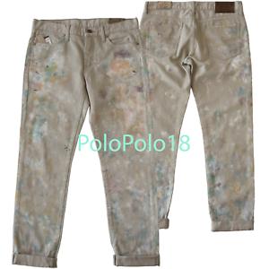 71186672d New  245 Polo Ralph Lauren Women Astor Slim Boyfriend Jeans Pants 27 ...