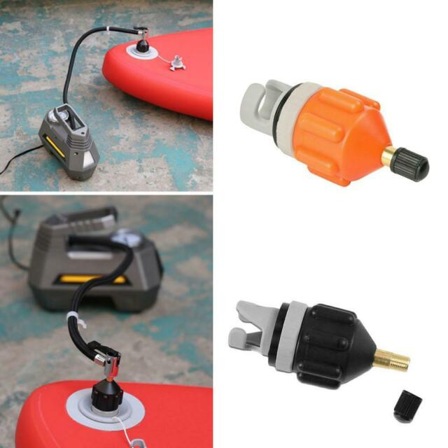 Valve Adapter Kayak Boat Connector Tool Air Inflator Raft Pump Inflatable Nozzle