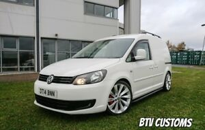 2014 VOLKSWAGON CADDY VAN WHITE  1.6 BTV STYLING PACK swb NO VAT!!!! PRICE DROP