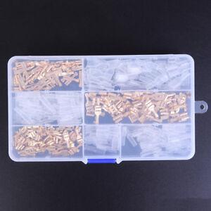 150Pcs-Female-Spade-Connectors-Wire-Crimp-Terminals-Set-2-8mm-4-8mm-6-3mmRA