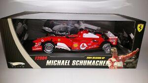 Hotwheels-Elite-F1-Ferrari-F2004-Michael-Schumacher-1-18-GP-Belgium-2004