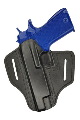U23 Leder Holster für Colt 1911 Colt 1911 Double Eagle schwarz VlaMiTex