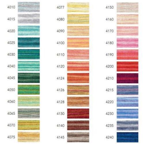 DMC Colour Variations Embroidery Thread 4015-4235