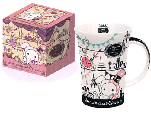 Sentimental Circus San-X Shappo Mug Tasse im Deko-Karton Cup Cute Kawaii Decora