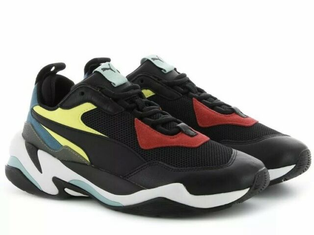 Puma Thunder Spectra Casual Shoes Mens Size 9 Black Red 367516 01 MSRP $120