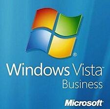 Windows Vista Business 64 bit with SP2 original DVD & product key & memory