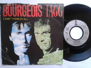 Bourgeois-Tagg-I-Don-039-t-Mind-At-All-7-034-Vinyl-Single-1987-mit-Schutzhuelle