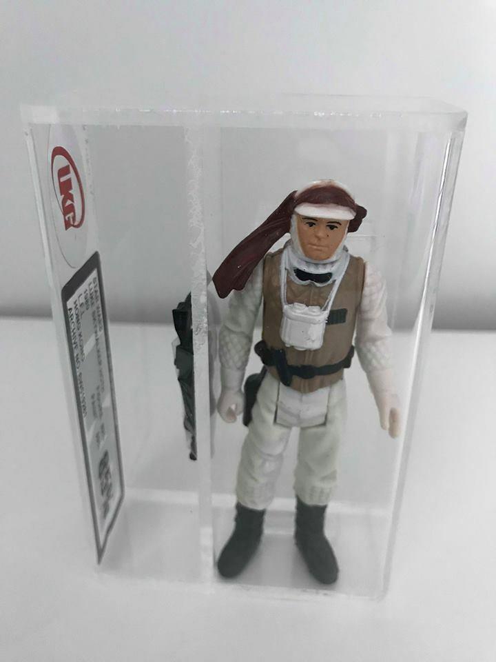 Estrella Wars Vintage Luke Skywalker HothG 85  no AFA  Nr  como Nuevo