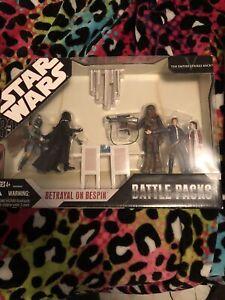 STAR WARS RARE TOYS Hasbro Betrayal at Bespin Action Figure Set LOOK!