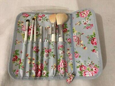 cath kidston london makeup brush set trifold roll up
