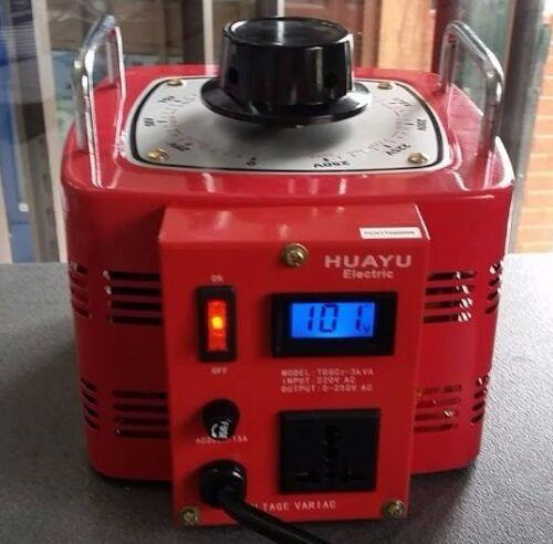 10 Amp Variac Variable Transformer 2000VA Max 0-240 AC Volt Output regulator New