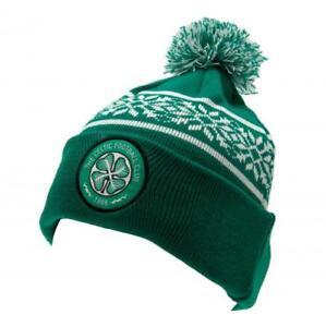5dec0121914 Image is loading Celtic-Fc-Green-amp-White-Winter-Bobble-Ski-