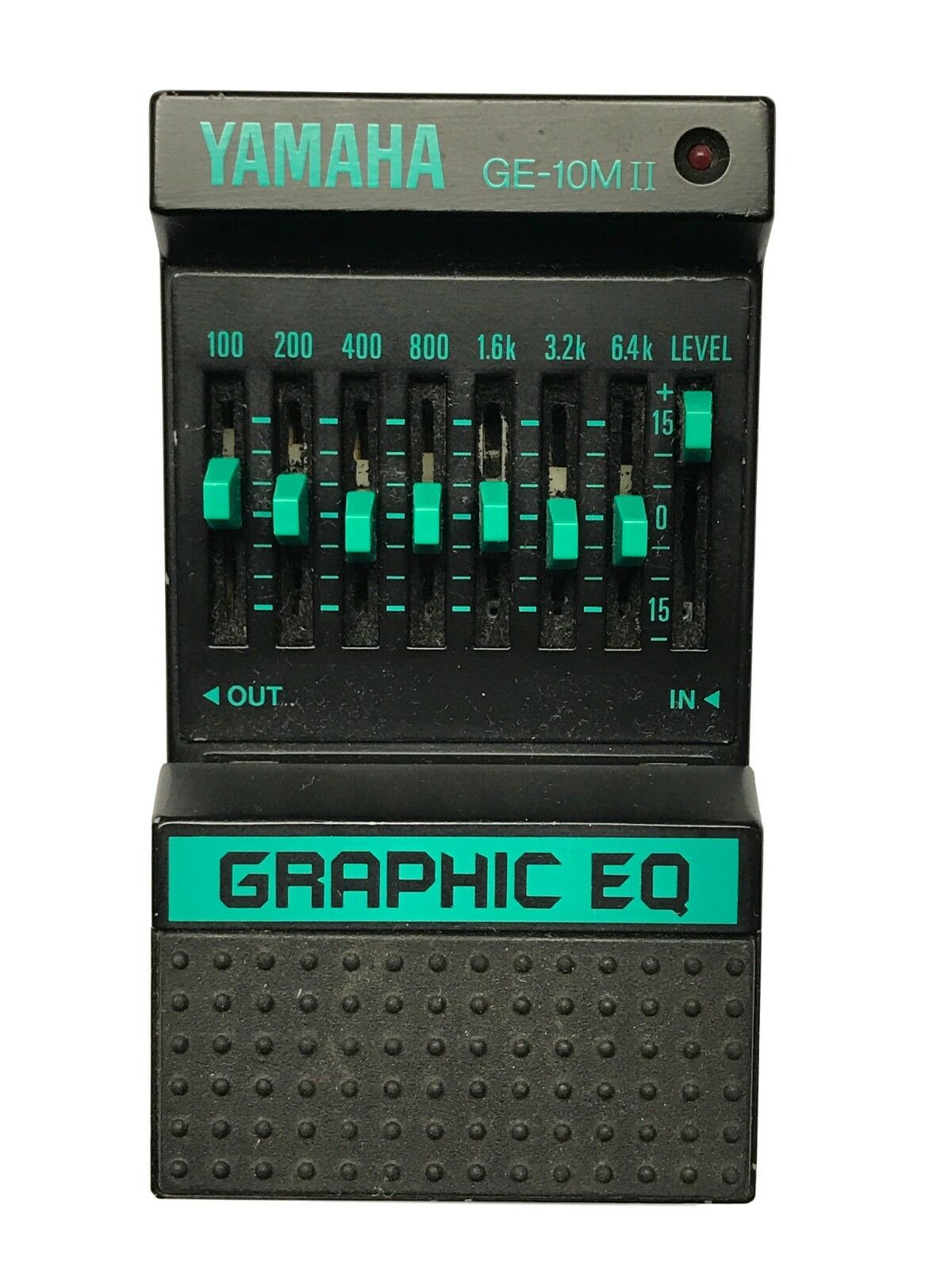 Yamaha GE-10M-II, Graphic EQ, Made in Japan, 80's, Vintage Guitar Effect Pedal