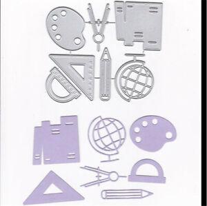 Stanzschablone-Zirkel-Globus-Hochzeit-Oster-Geburtstag-Weihnachten-Karte-Album