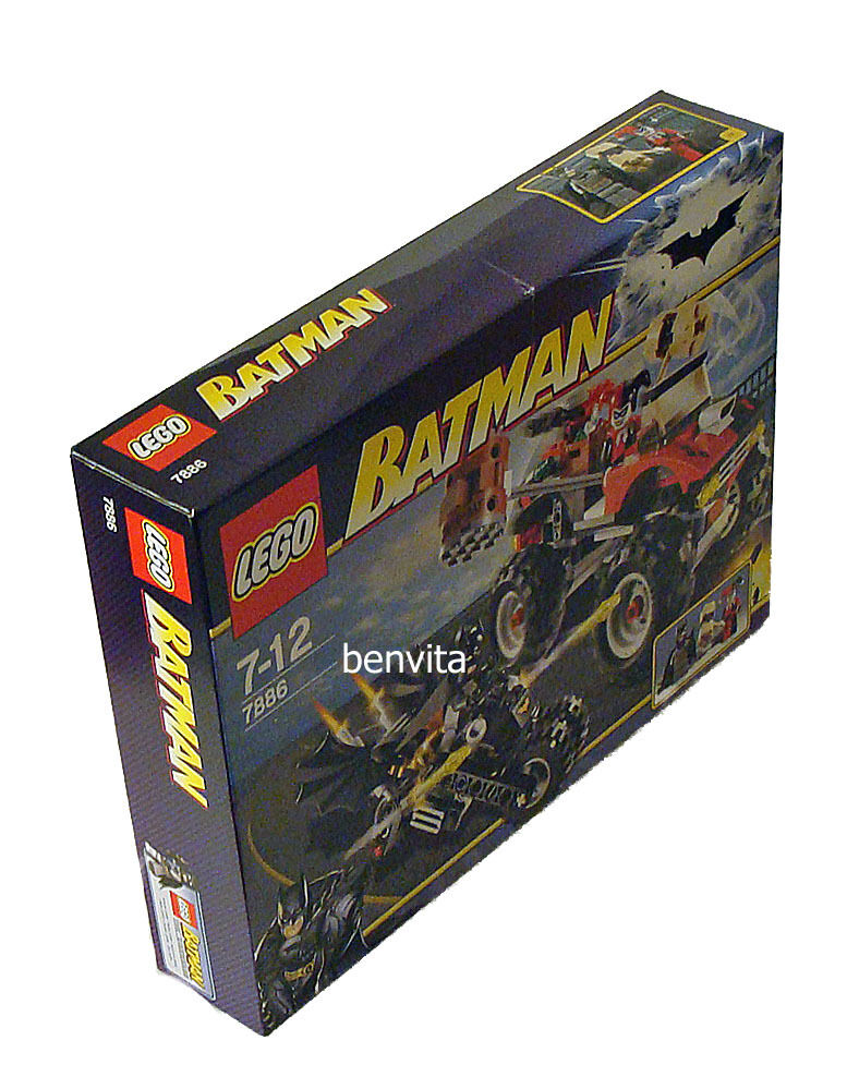 LEGO ® Batman 7886-Harley quinn marteau camion 7-12 ans 276 pièces-NEUF