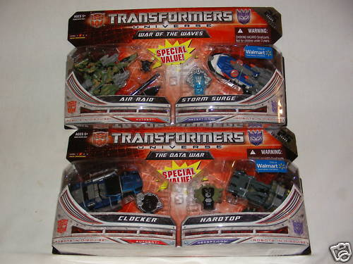 Transformers Universe 25th  Walmart Exclusive Lot 2