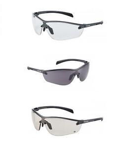 Bolle-Silium-Plus-Occhiali-di-Sicurezza-trasparente-fume-CSP-LENTI