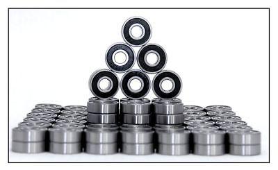 100 Stk. Rillenkugellager 608 2rs Kugellager 8x22x7mm Miniaturkugellager SorgfäLtig AusgewäHlte Materialien
