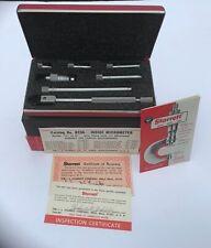 Starrett 823az 823 Mechanical Tubular Inside Micrometer Set 1 12 8 Box