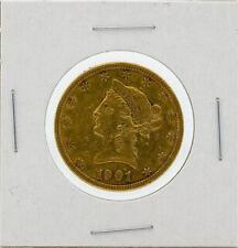 1901-S $10 Vf Liberty Head Eagle Gold Coin Lot 94
