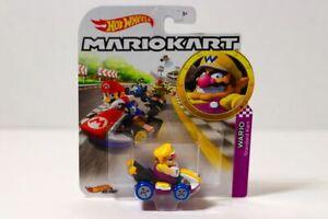 WARIO-Standard-Kart-Hot-Wheels-Nintendo-Mario-Kart