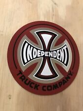 3 Independent Truck Company Skateboard Sticker CROSS logo skateboard trucks